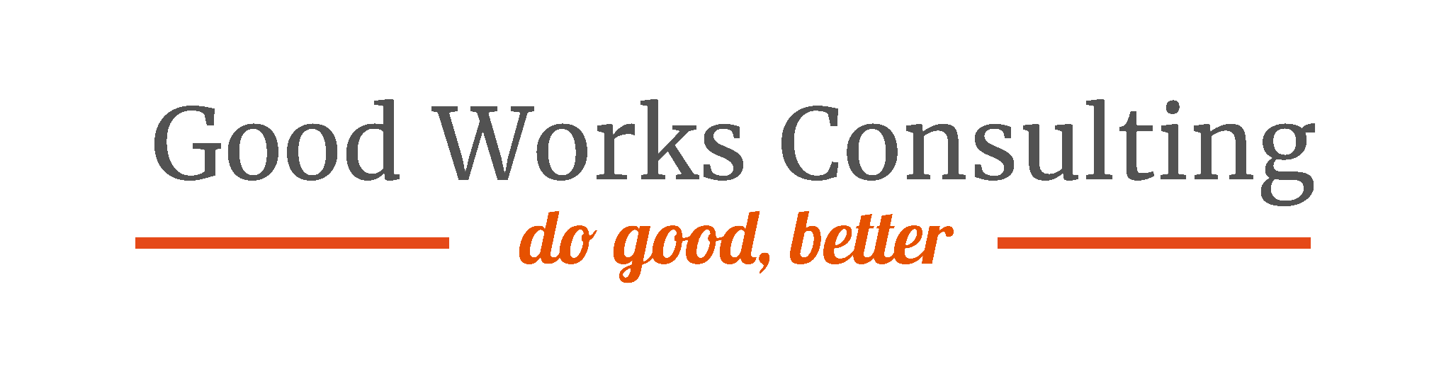 Good Works Consulting